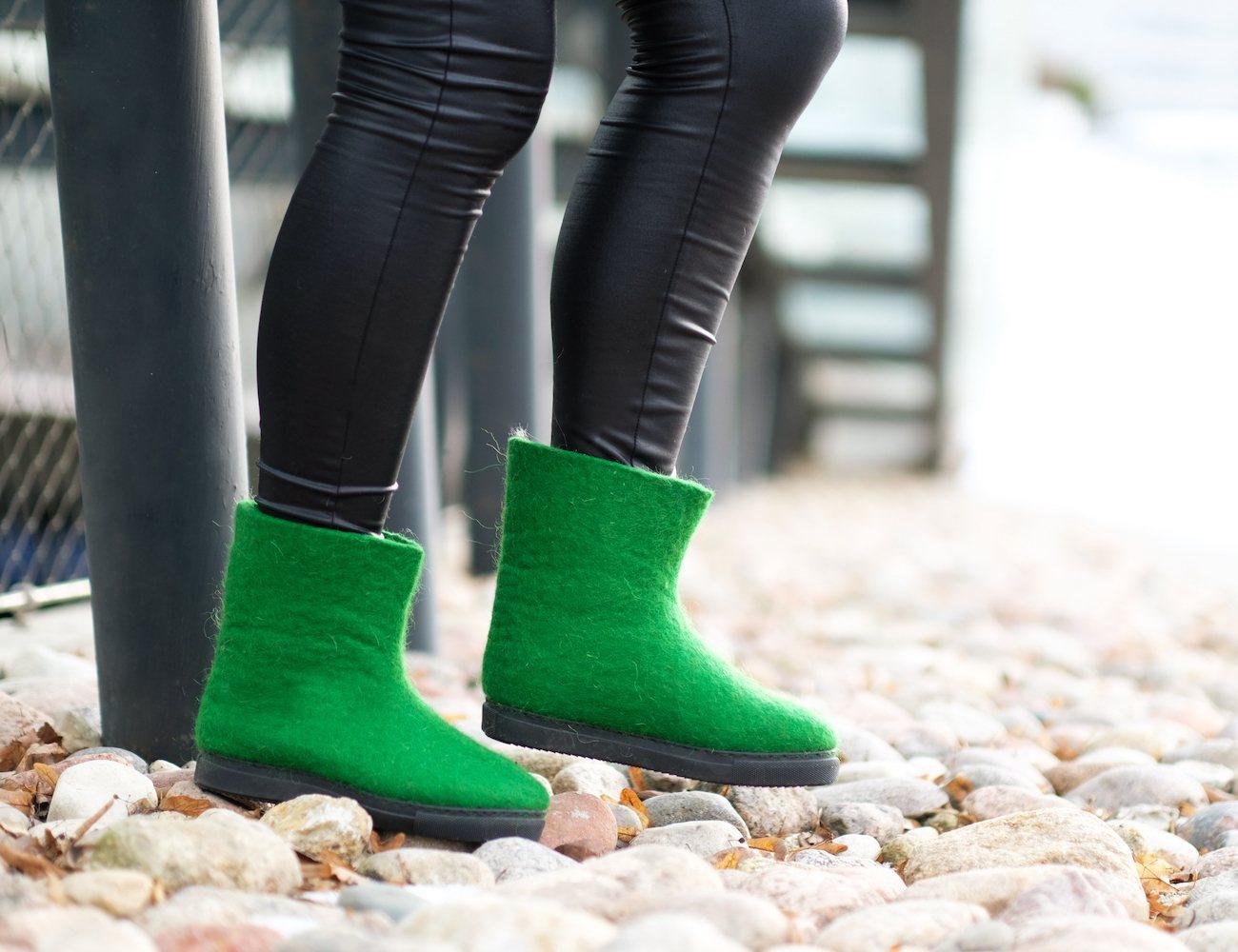 Felt Forma Women's Eco-Friendly Wool Snow Boots