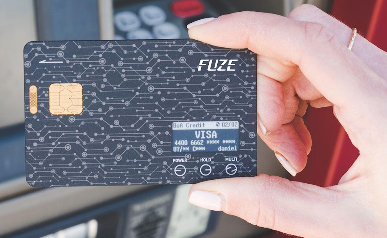 Fuze Card Smart Wallet Card