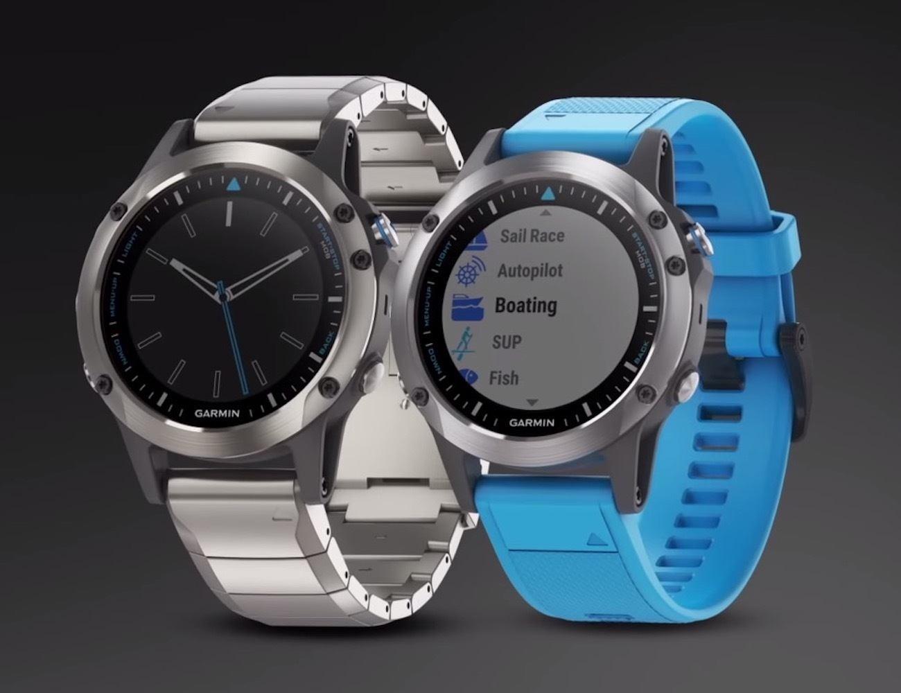 Garmin Quatix 5 Marine GPS Smartwatch
