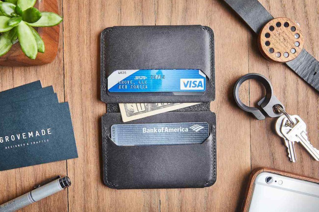 Grovemade+Compact+Bifold+Wallet