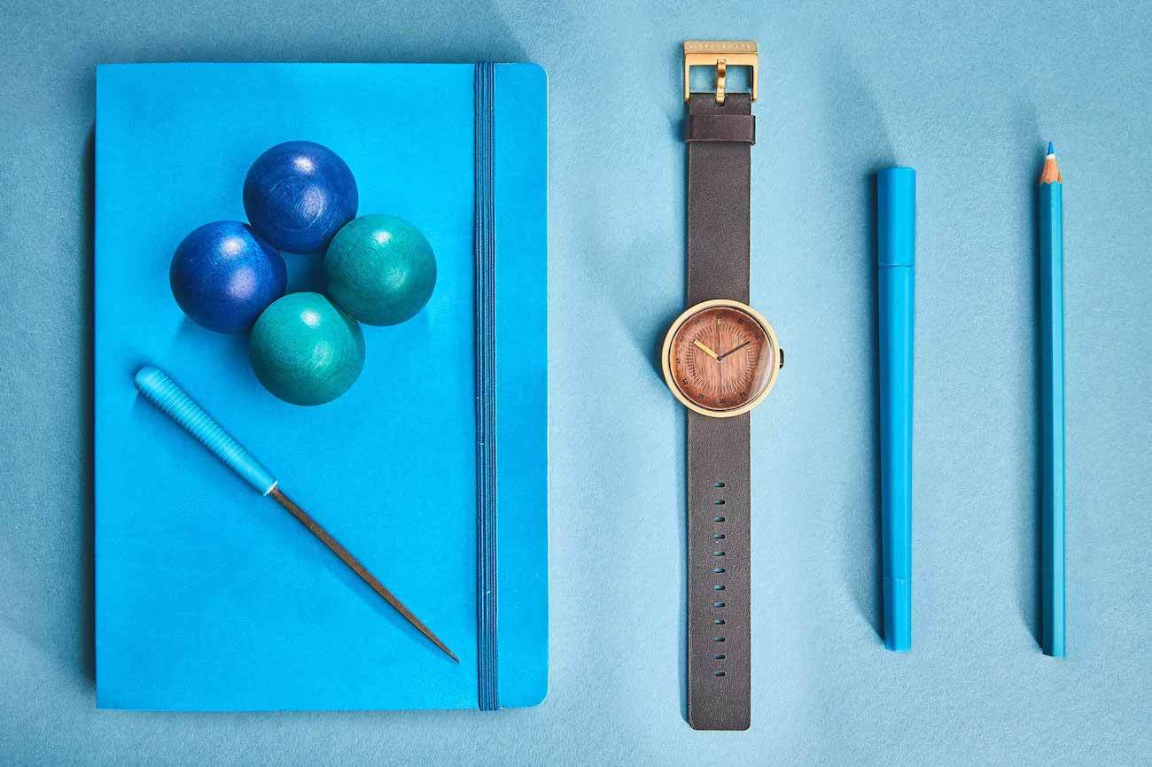 Grovemade Gold Wood Watch 02