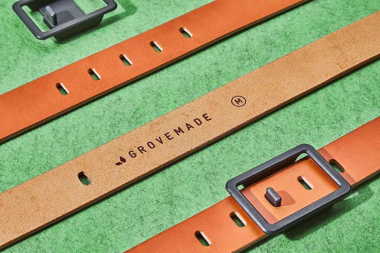 Grovemade Minimalist Leather Belt
