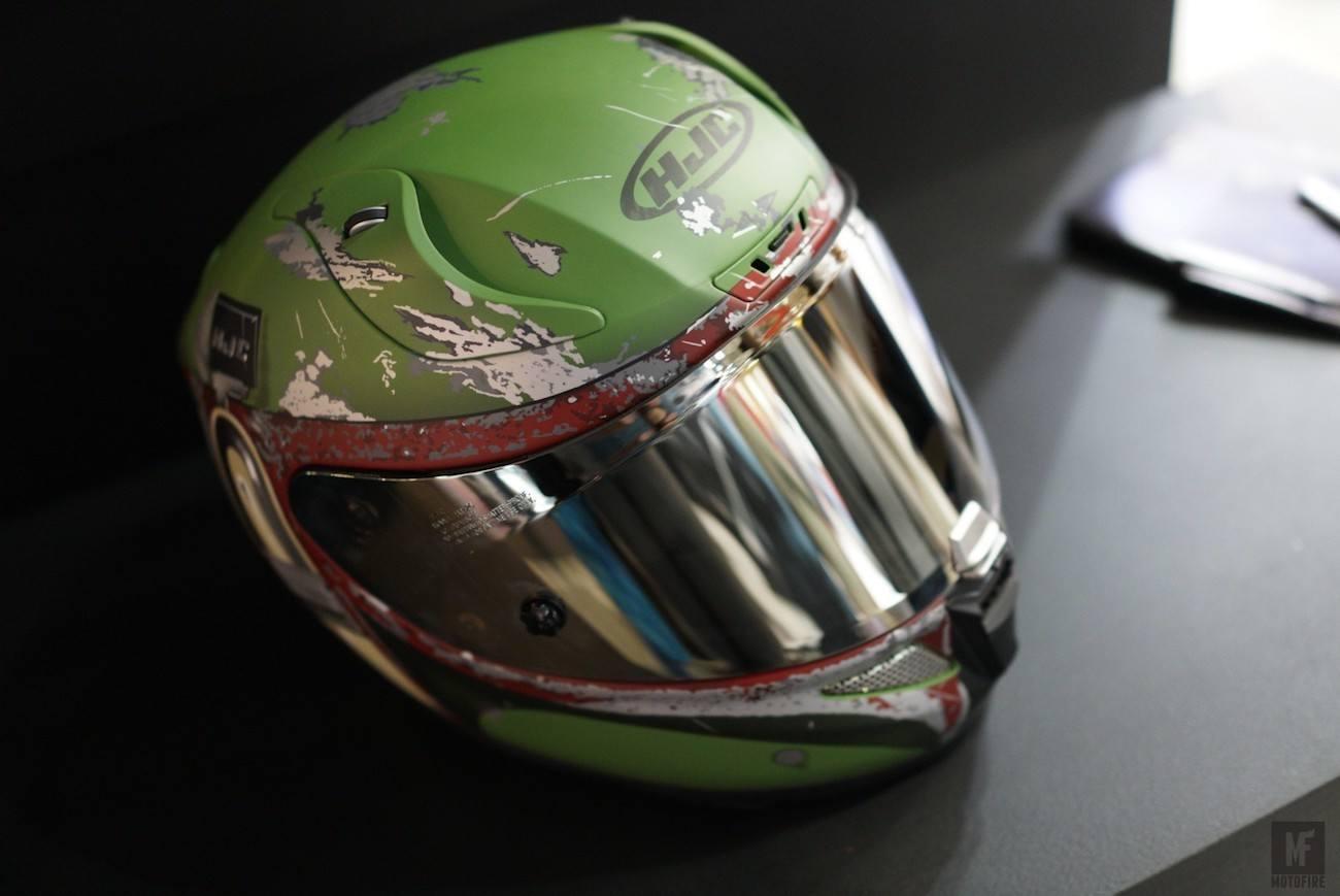 Hjc Rpha 11 >> HJC Pro Boba Fett Helmet » Gadget Flow