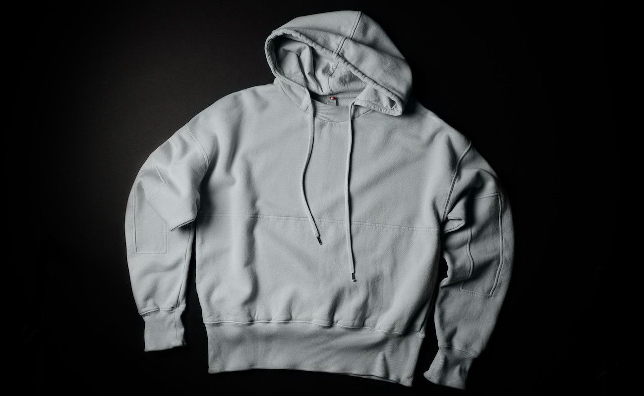Hard Graft Relaxed Ribs Hoodie