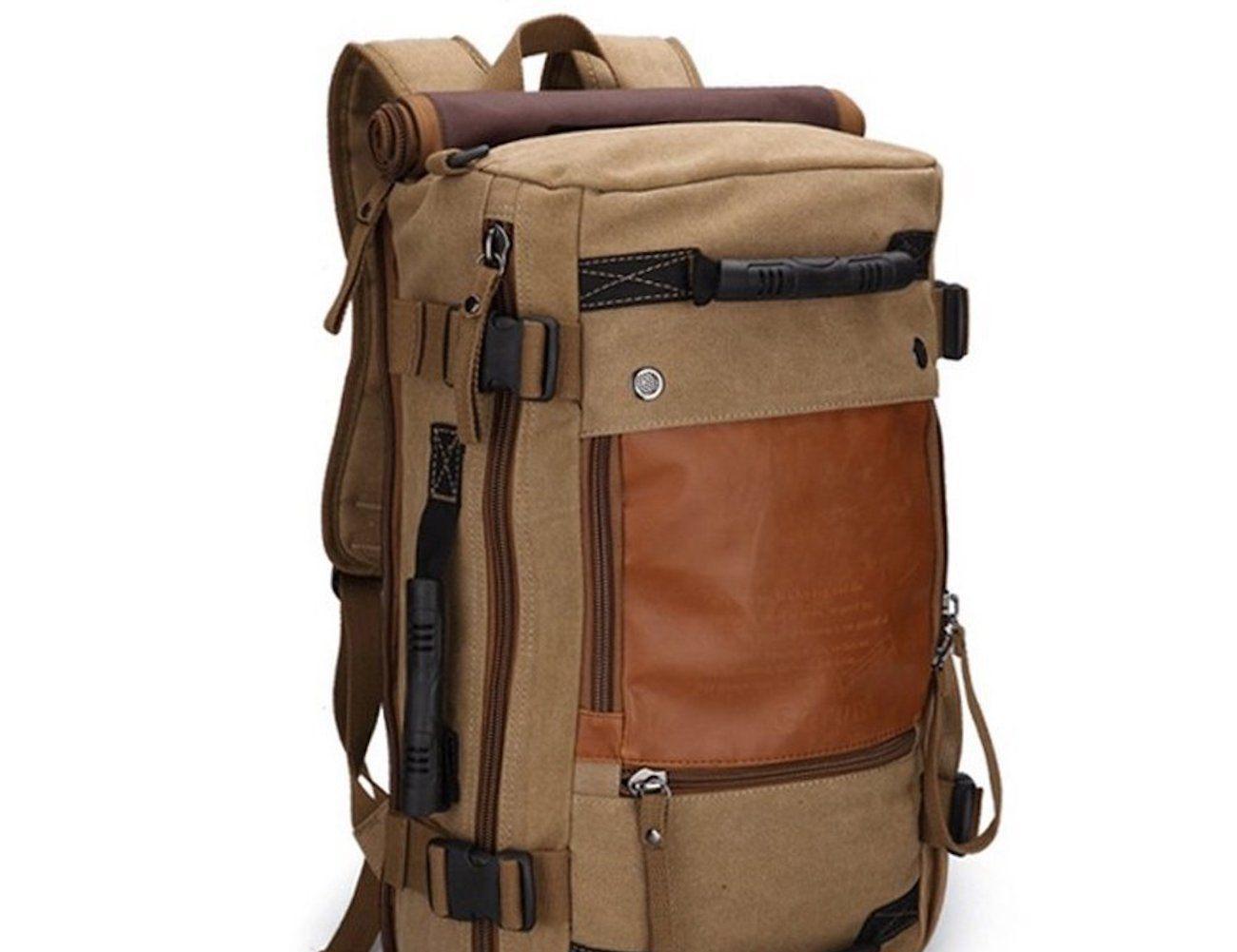 e63a28c08fd6 Durable Canvas Travel Backpack- Fenix Toulouse Handball