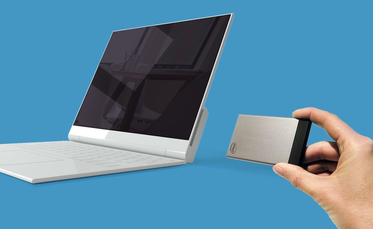 Portable Compute Card by Intel
