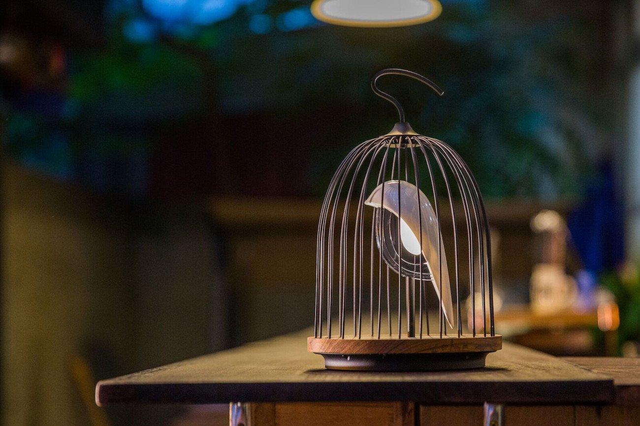 JinGoo+Birdcage+Speaker+Light