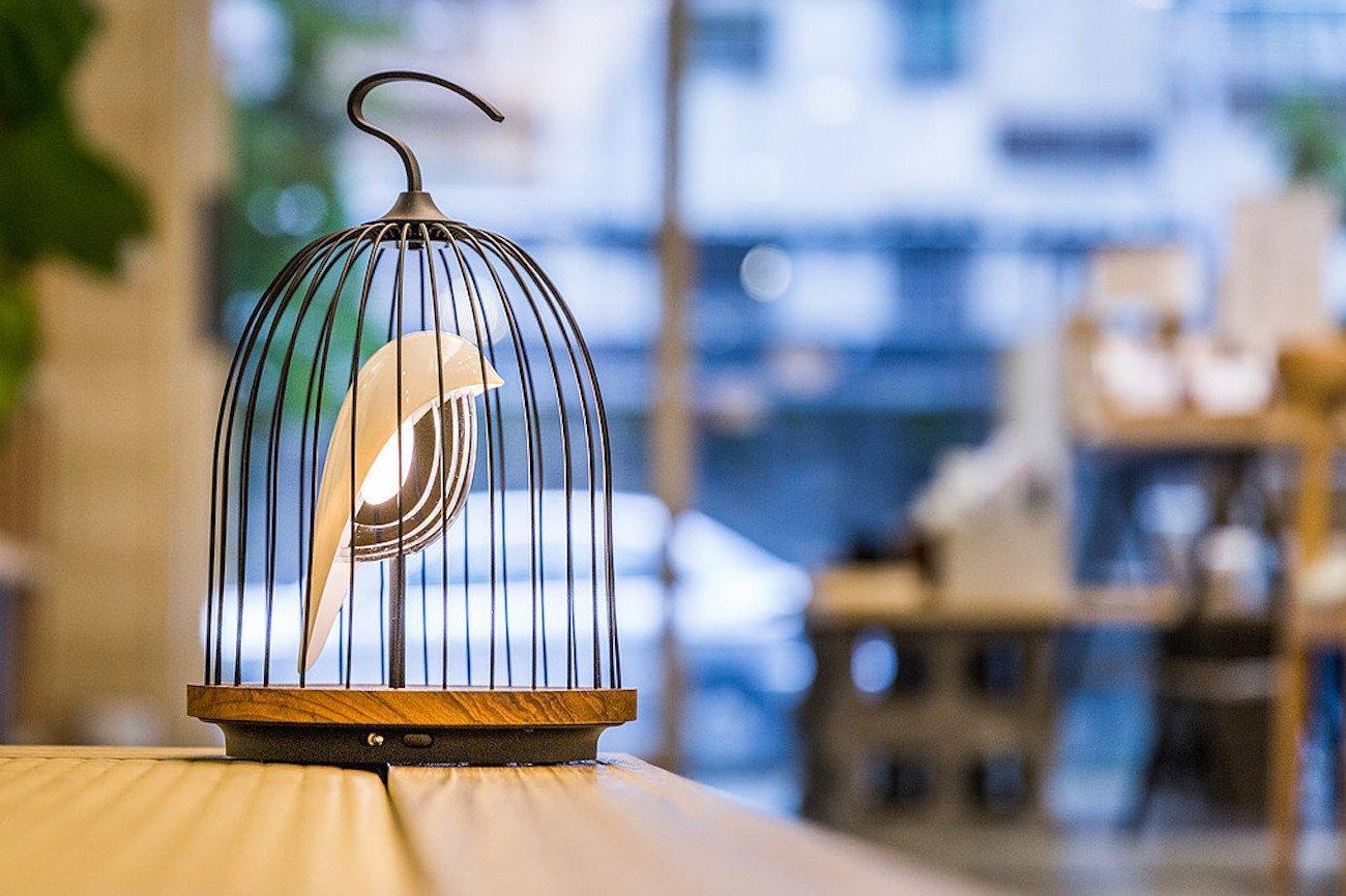 JinGoo Birdcage Speaker Light