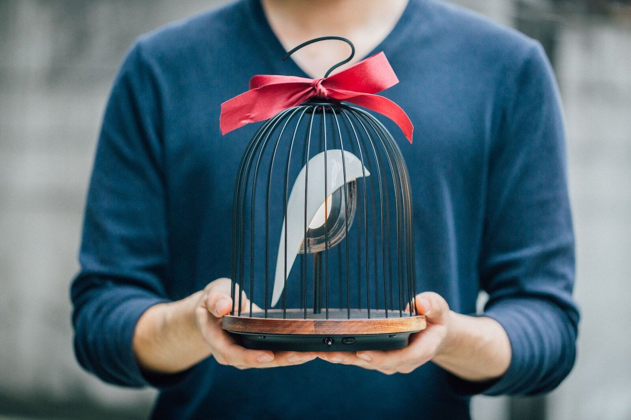 JinGoo Birdcage Speaker Light