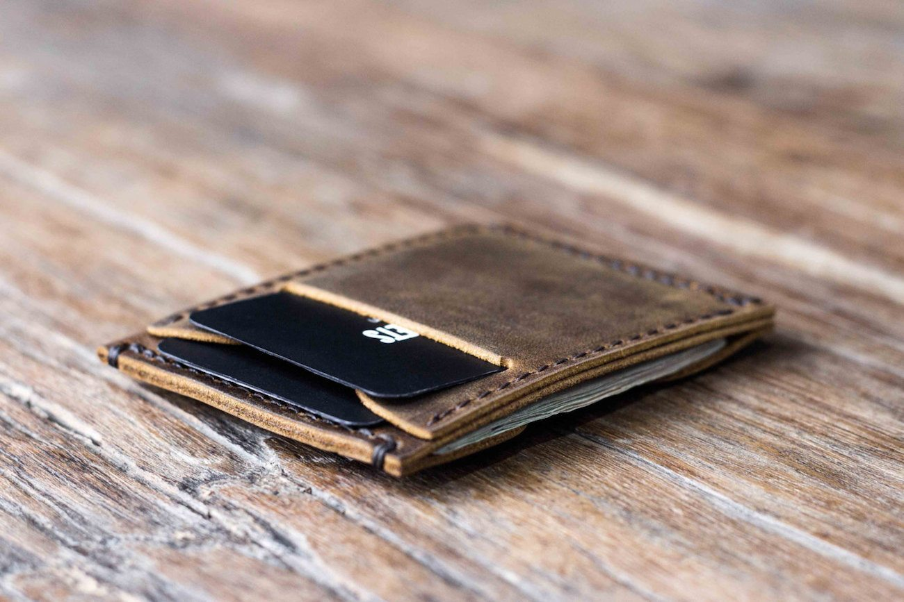 JooJoobs Minimalist Leather Wallet