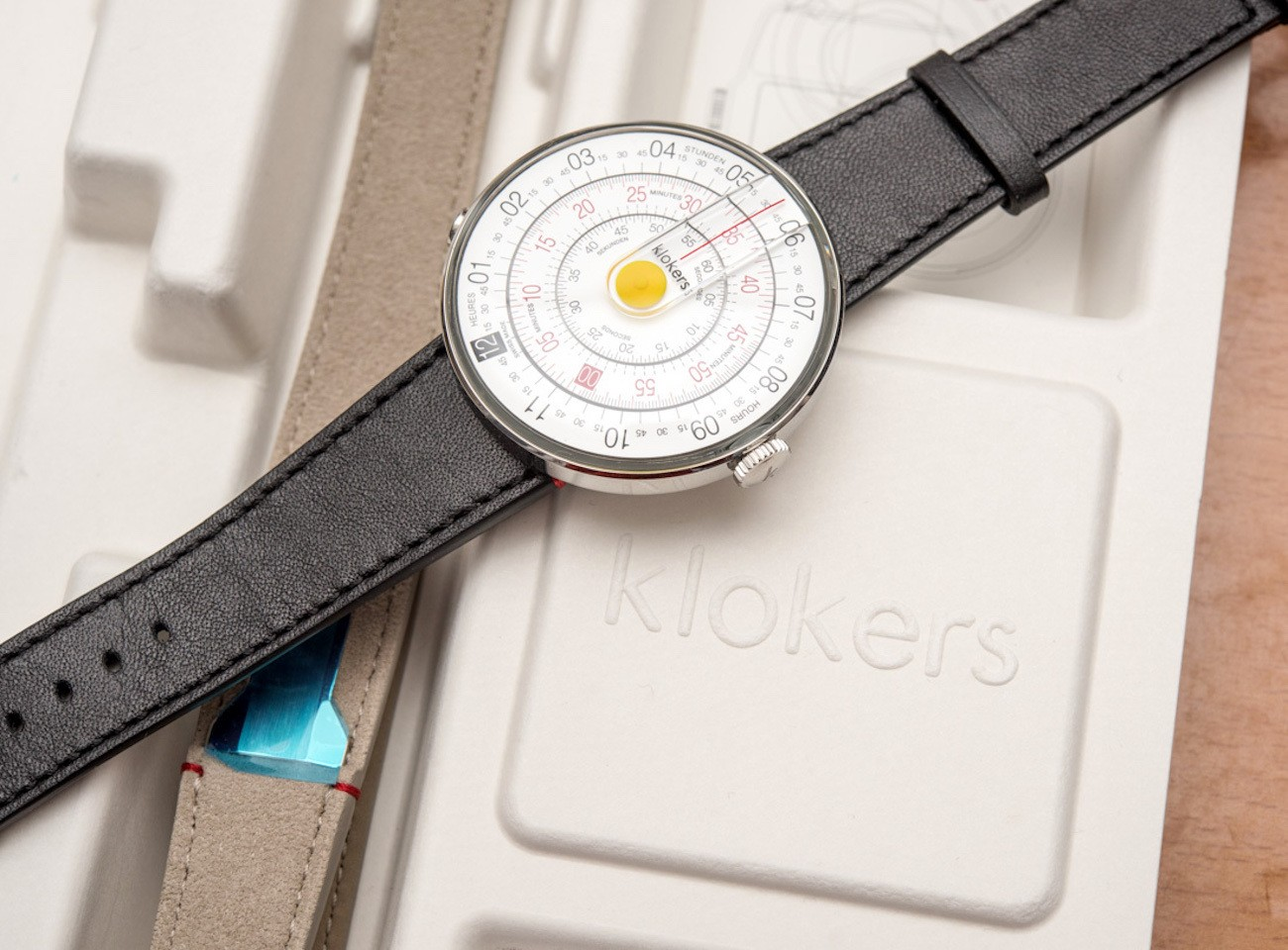 KLOK-01 Swiss-Made Watch