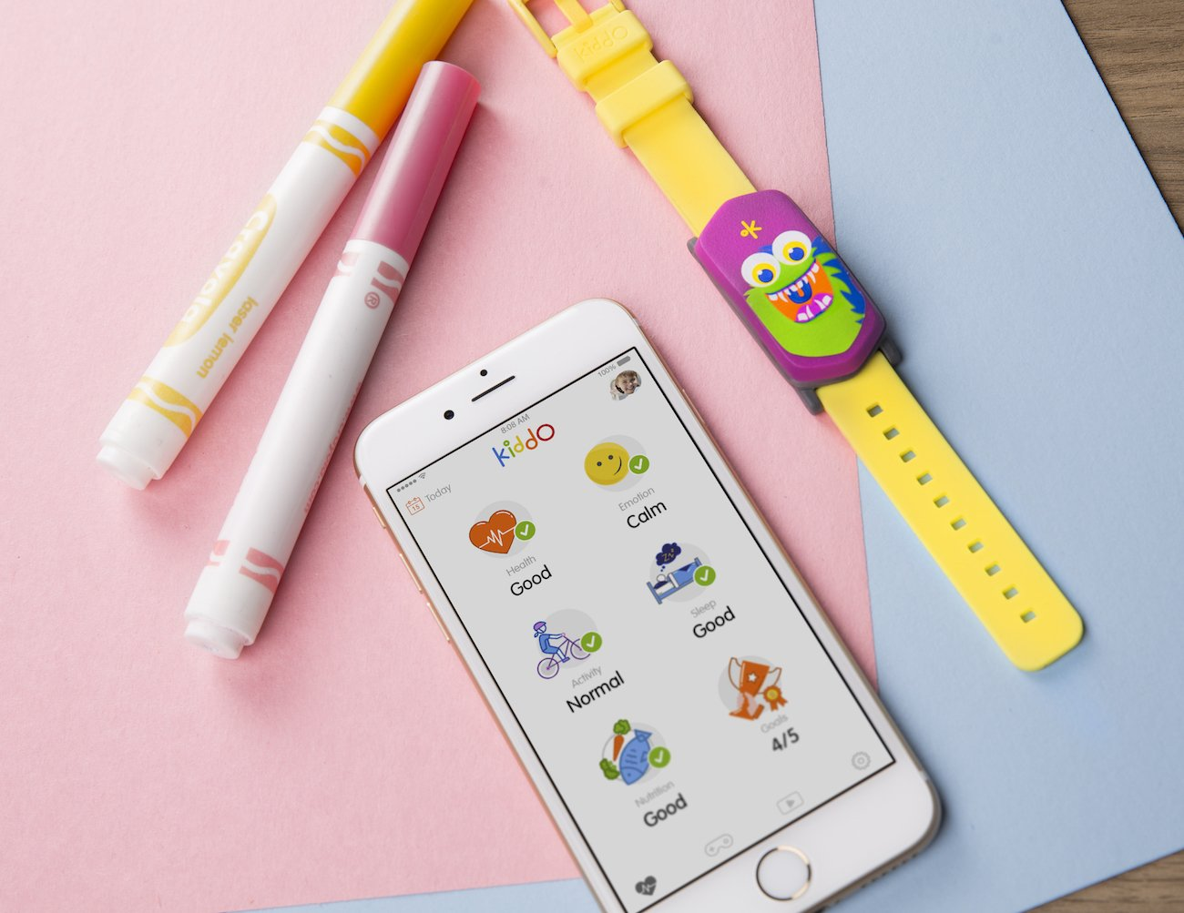 Kiddo Kids Wellness Tracker
