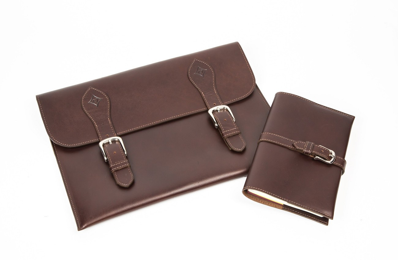 Notebook Cover Pictures : Langston leather notebook cover gadget flow