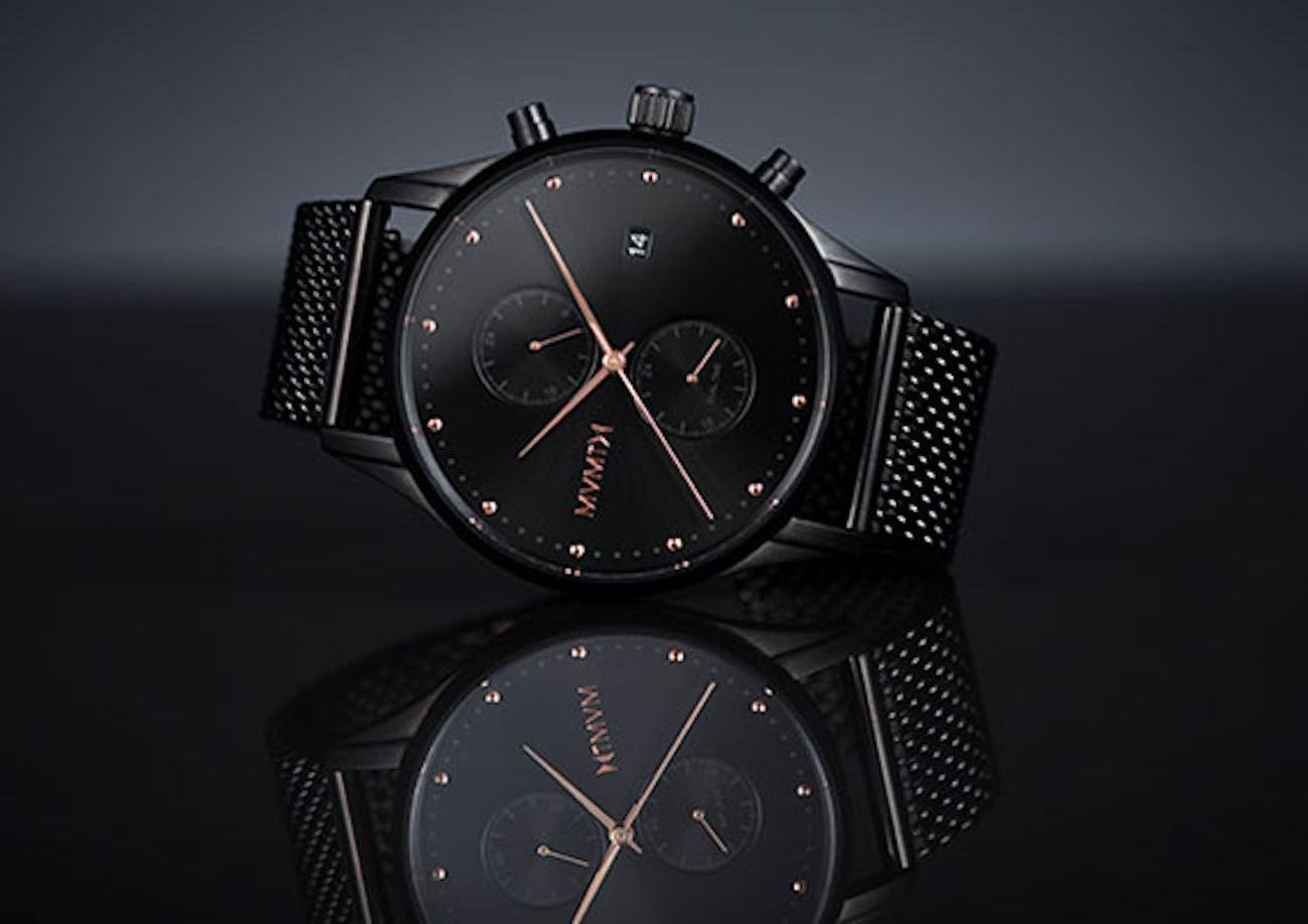 Mvmt watches black rose edition gadget flow for Mvmt watches
