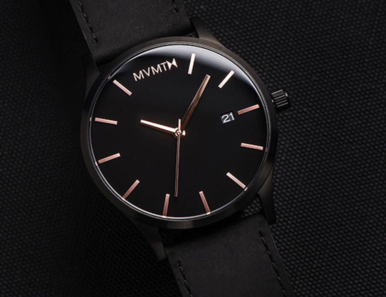 MVMT Watches Black Rose Edition