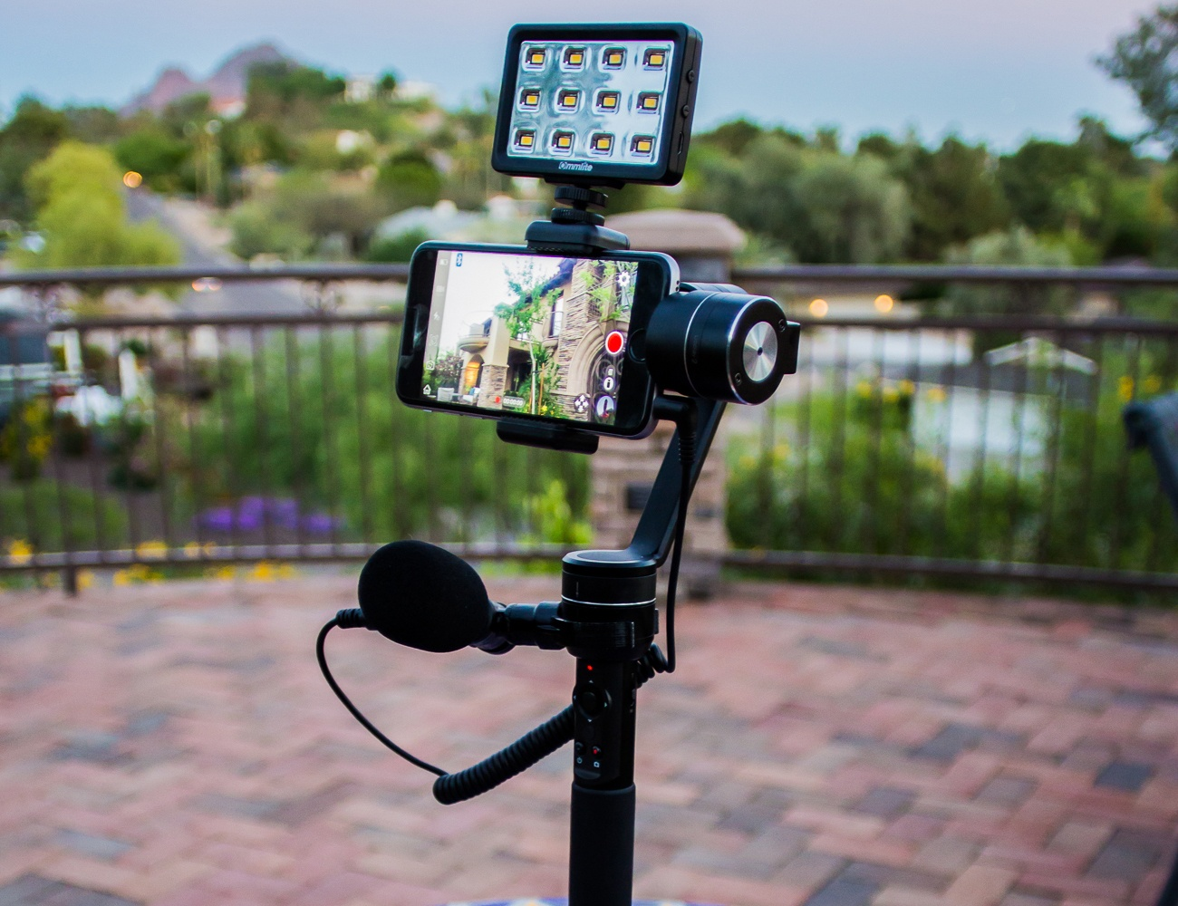 SmoothVu Video Stabilizer for Smartphones and GoPro