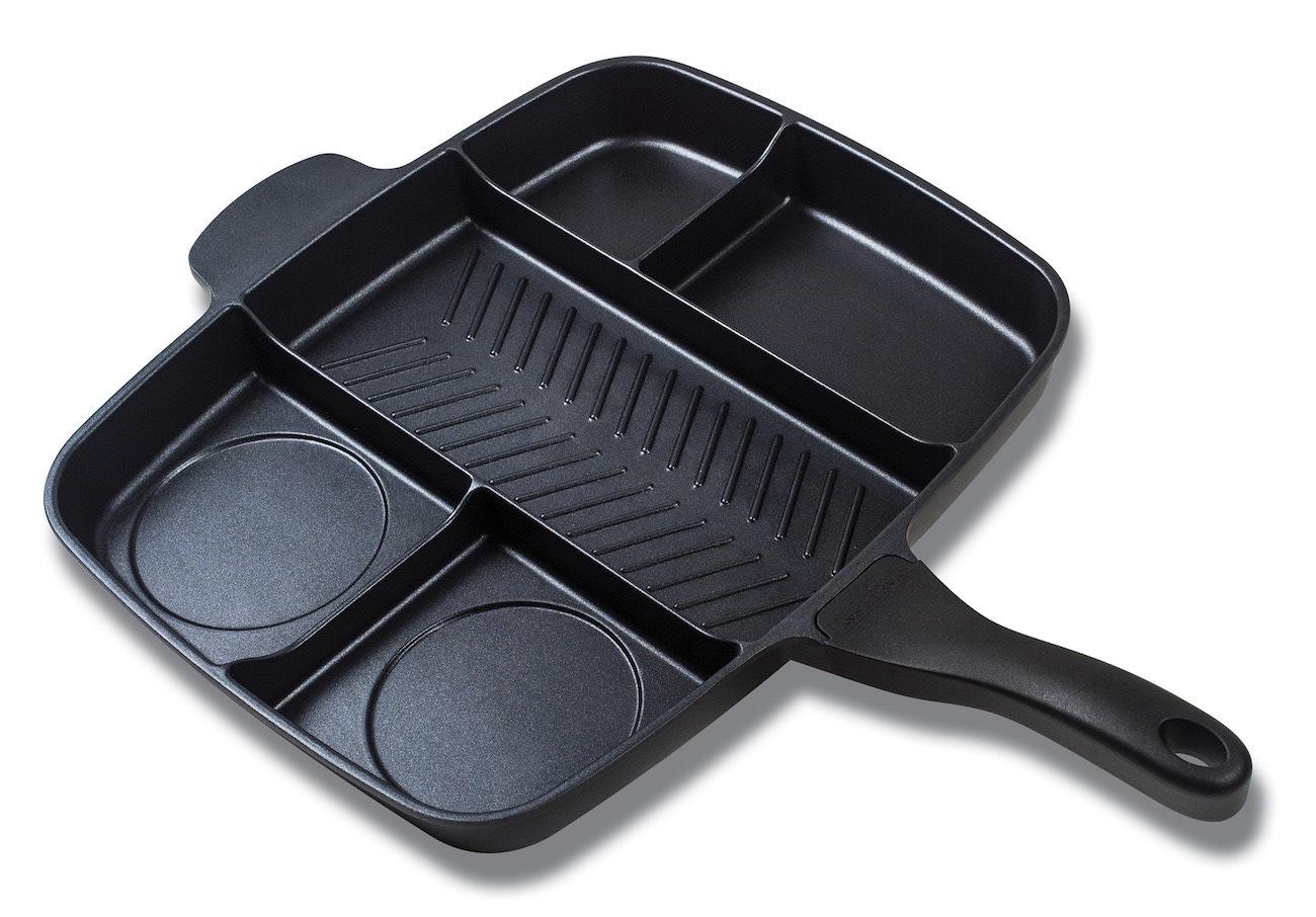 MasterPan Divided Skillet Pan
