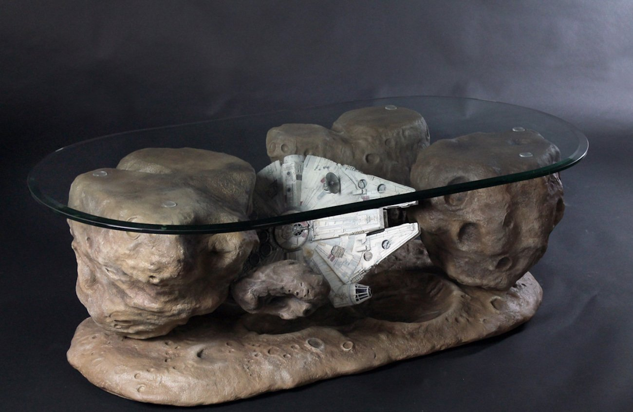 Millennium Falcon Asteroid Table