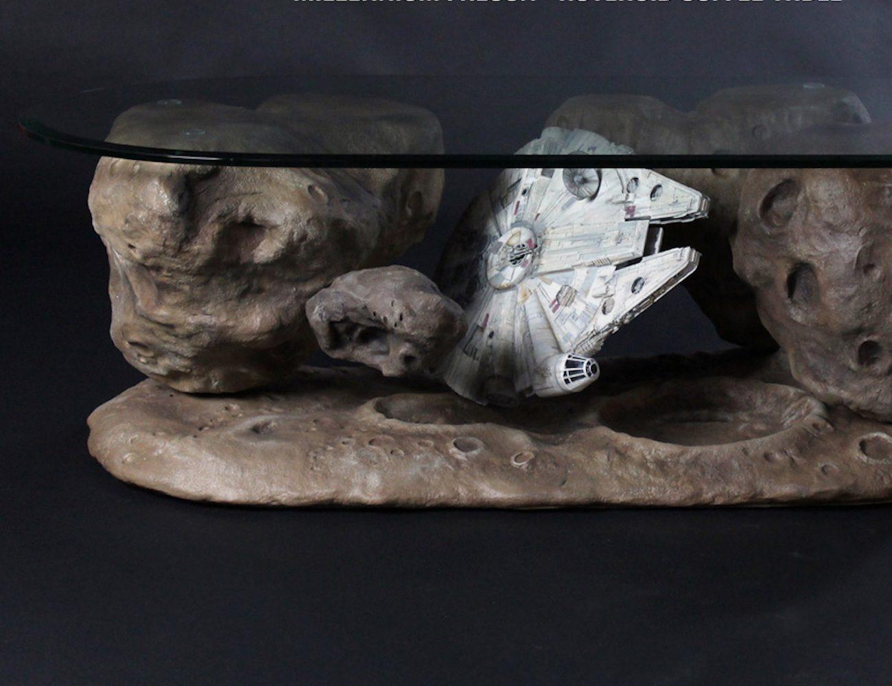 Millennium Falcon Asteroid Table