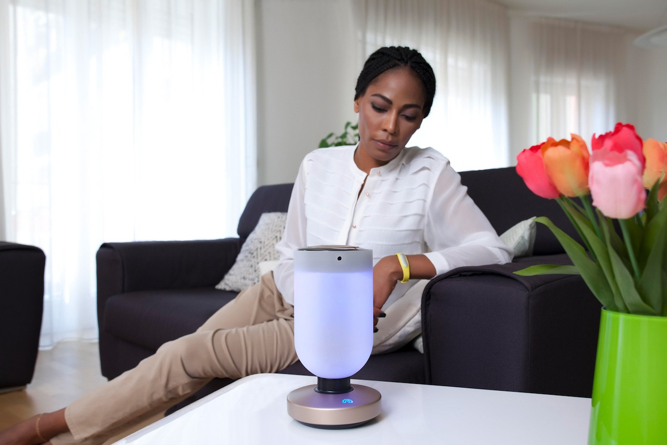 Momo Smart Home Security Robot