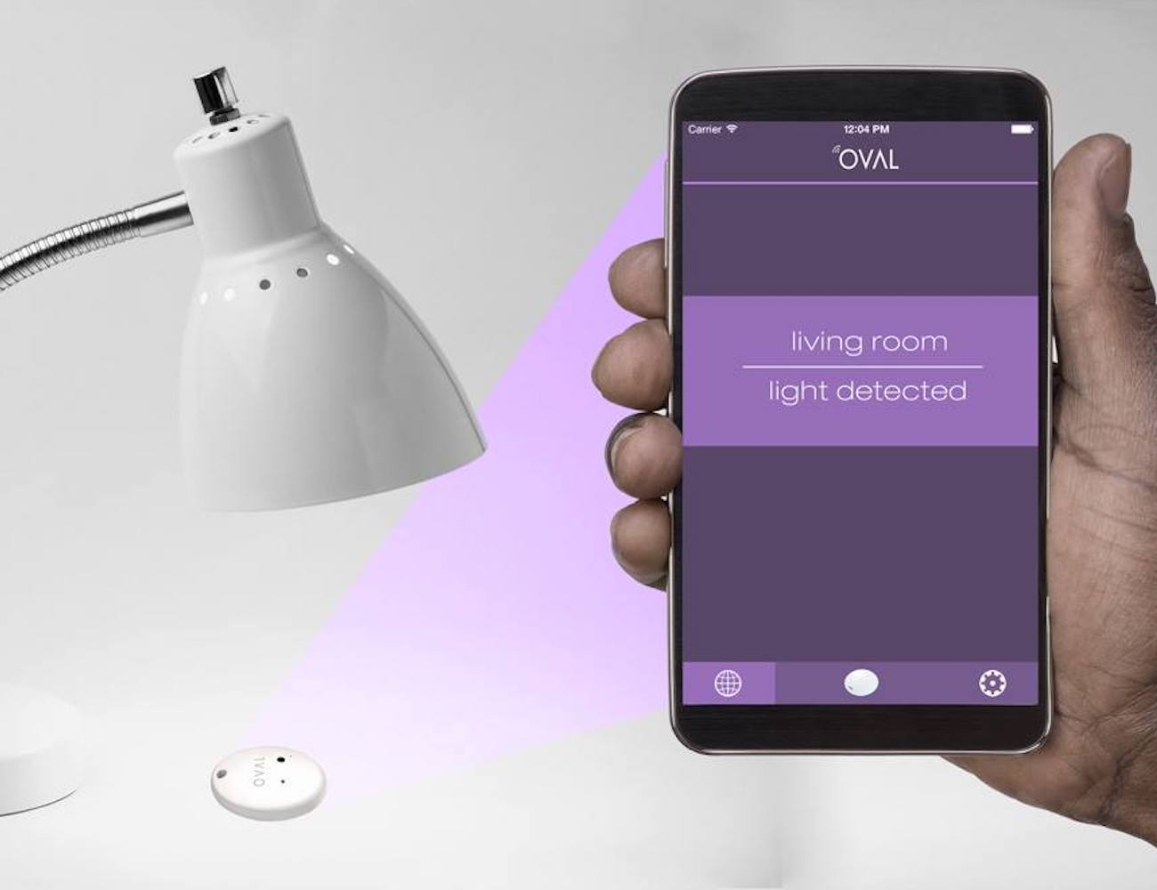 Oval Smart Multi-Purpose Sensor