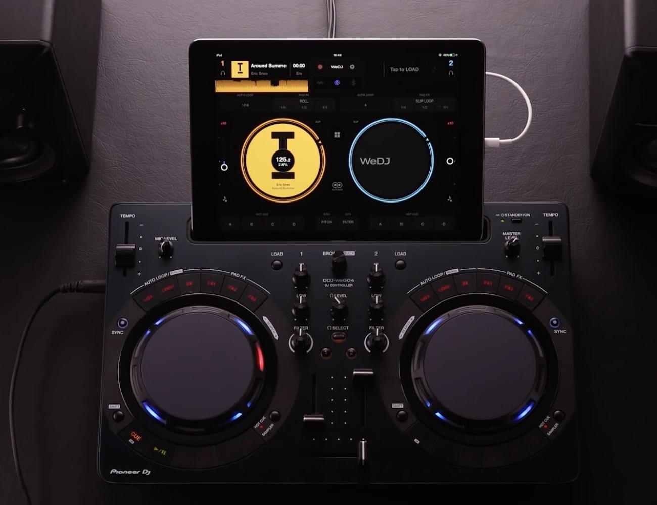 Pioneer+Compact+DJ+Software+Controller