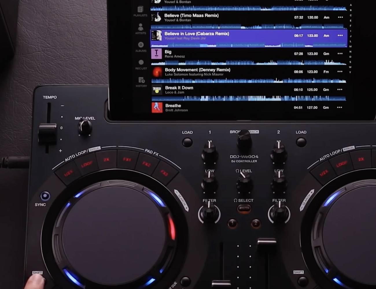 Pioneer Compact DJ Software Controller