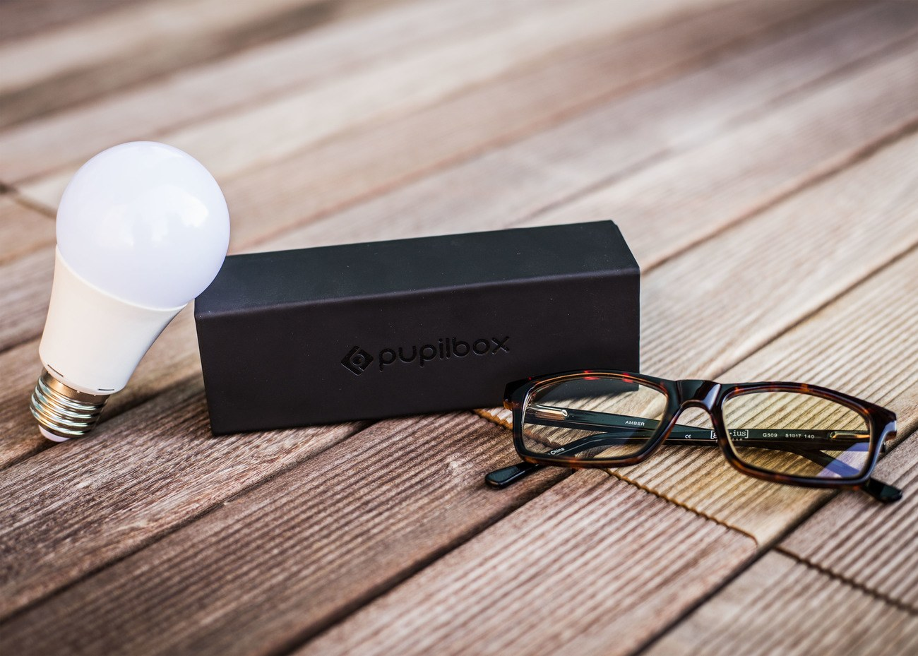 PupilBox Vision Protection for the Digitally Addicted
