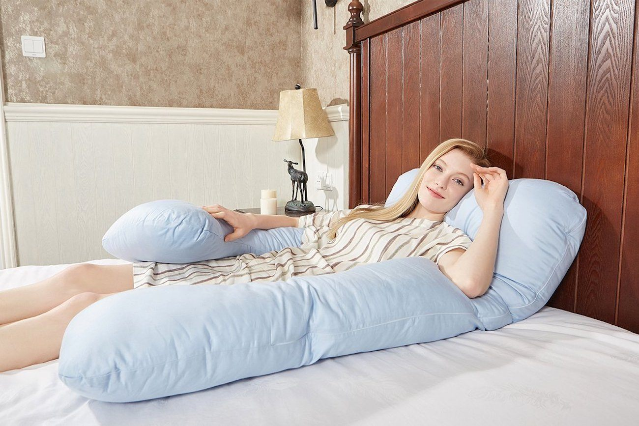 Puredown U-Shaped Body Pillow