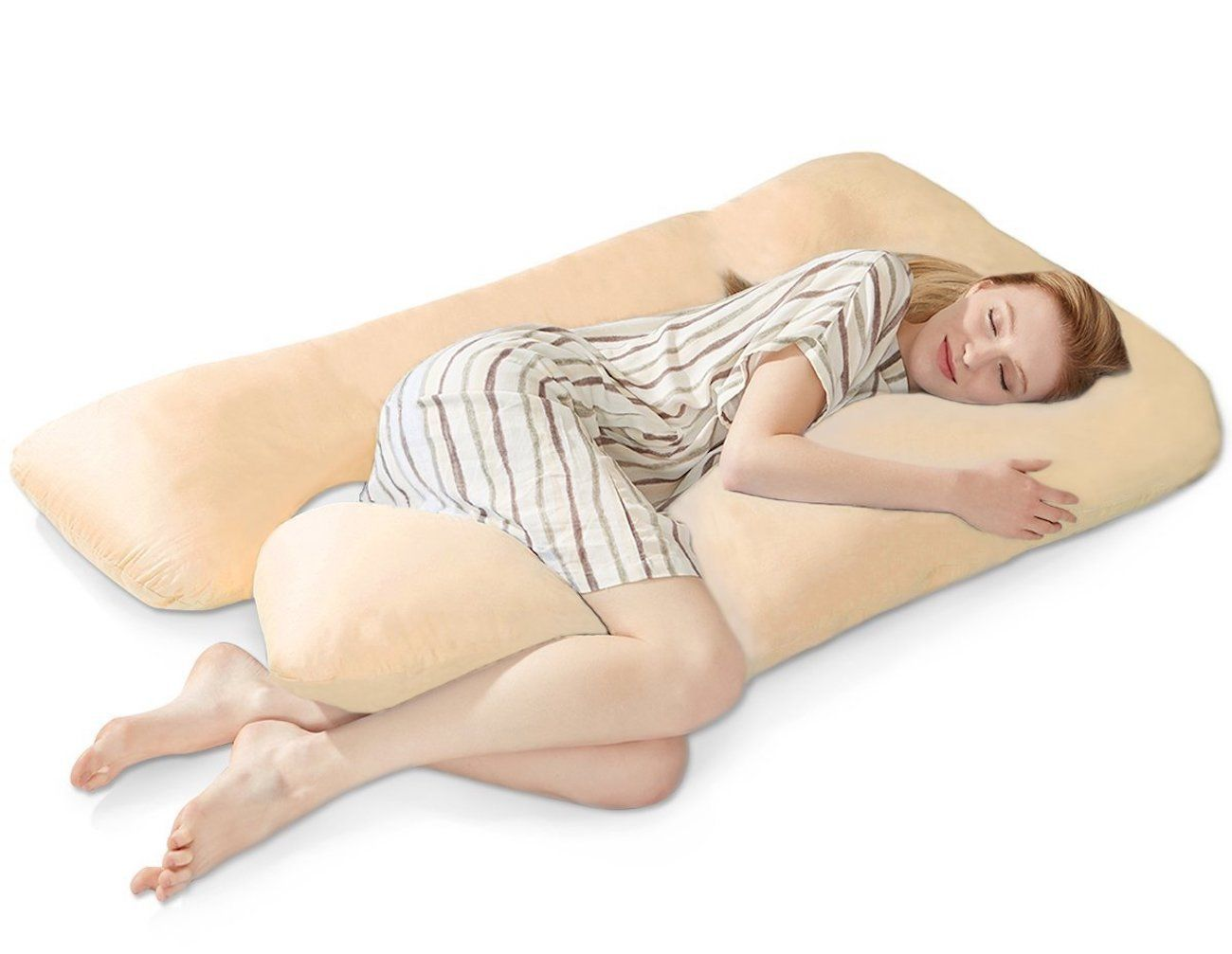 Puredown U-Shaped Body Pillow