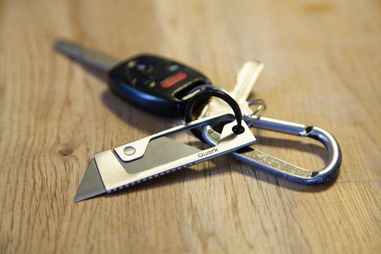 Quark Tool Stainless Steel Utility Knife