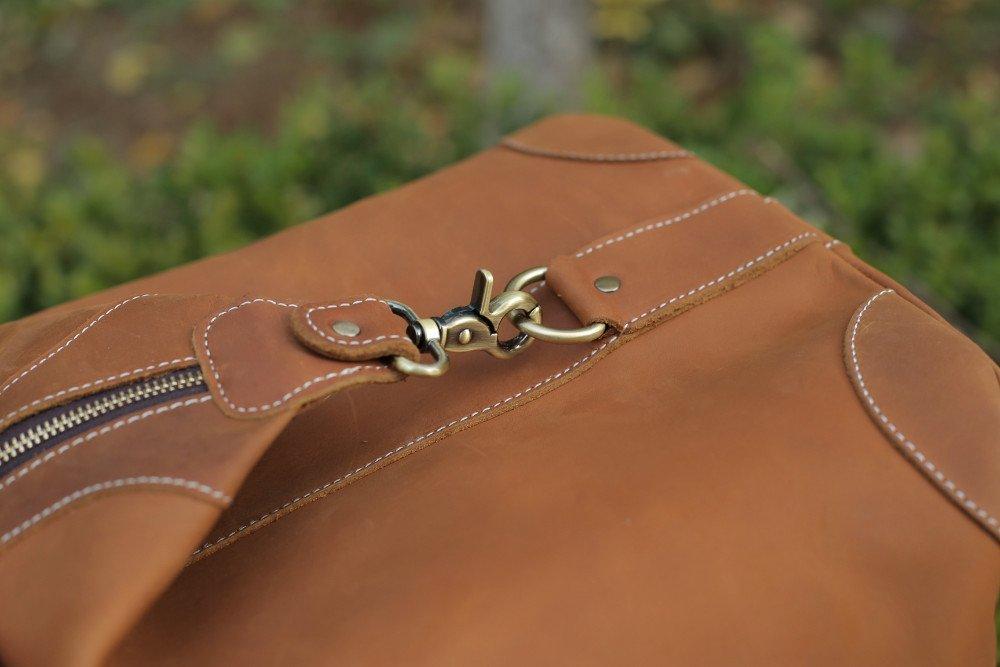 Retro Leather Travel Bag