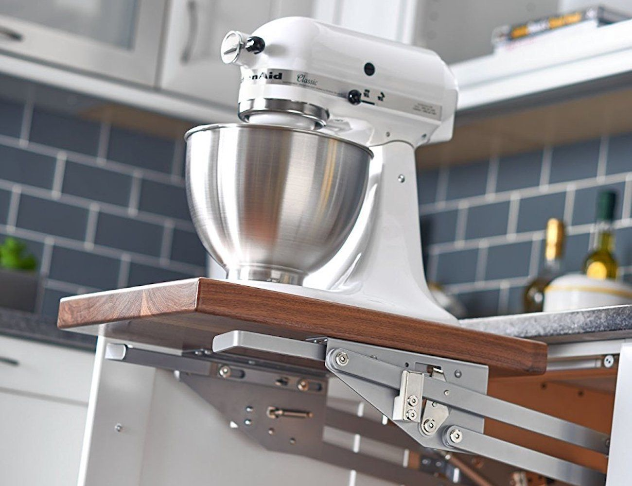 Rev-A-Shelf Appliance Lift with Soft-Close Mechanism