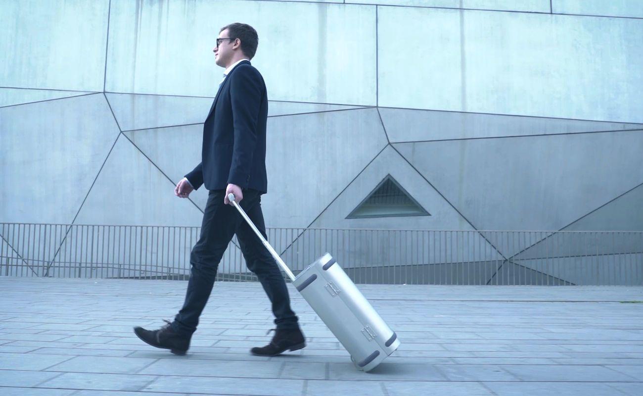 Samsara Smart Aluminum Suitcase