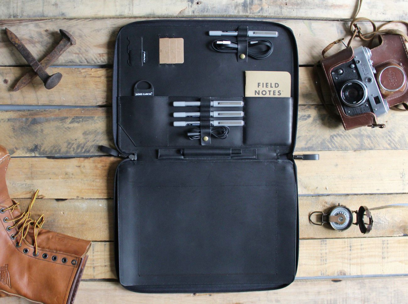 Savage Leather MacBook Portfolio