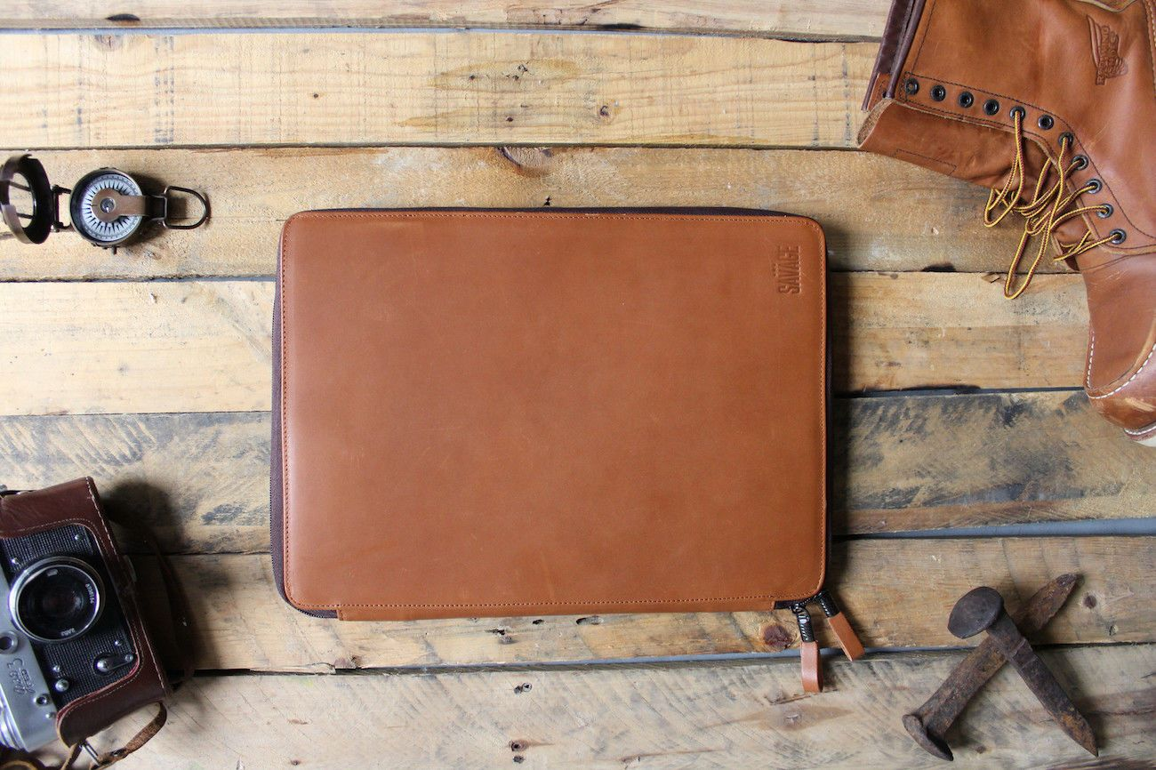 Savage Leather MacBook Portfolio