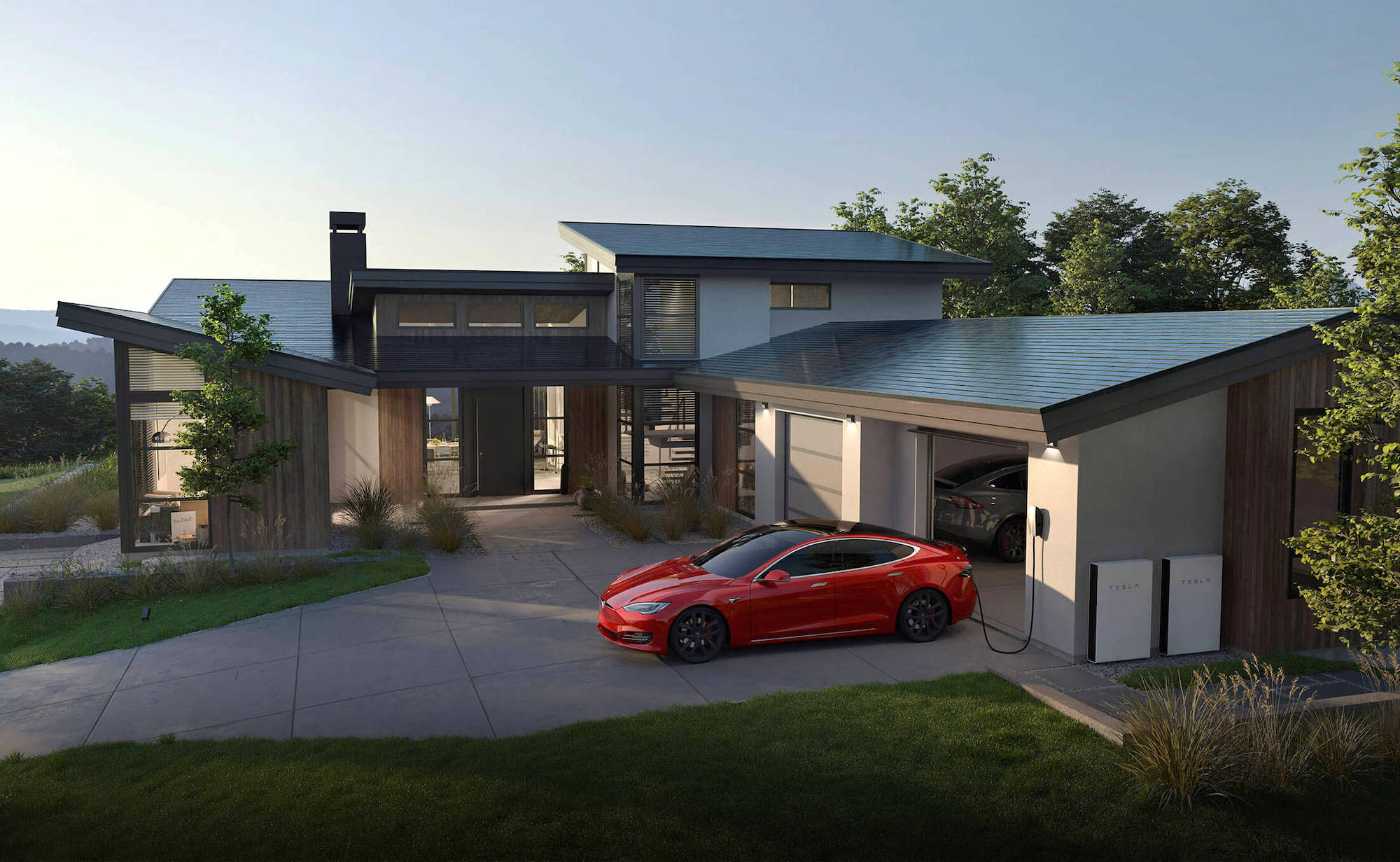 Tesla Solar Roof Sun-Powered Shingles let you monitor your energy gain and usage