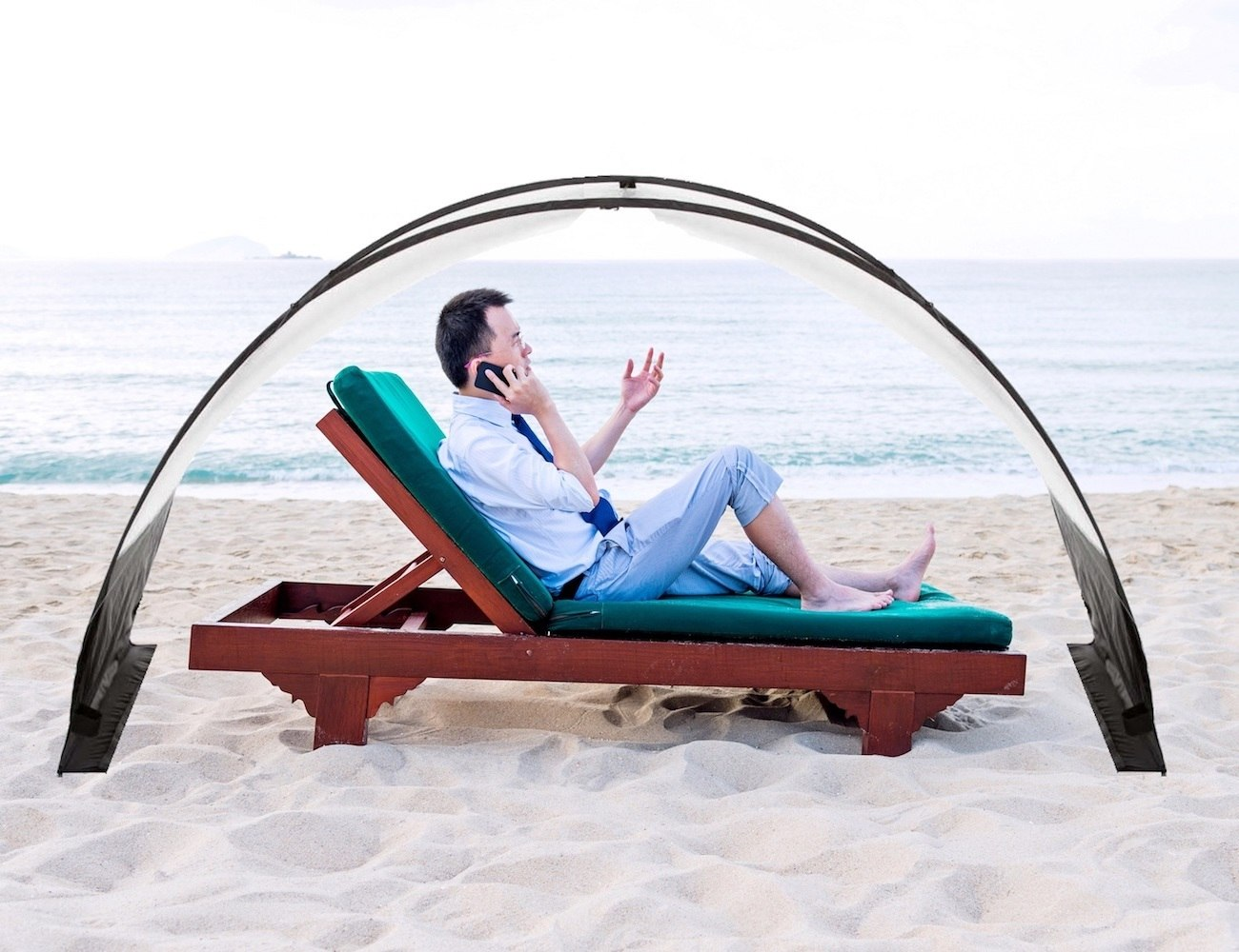 The Ultimate Beach Combo Towel and Shelter