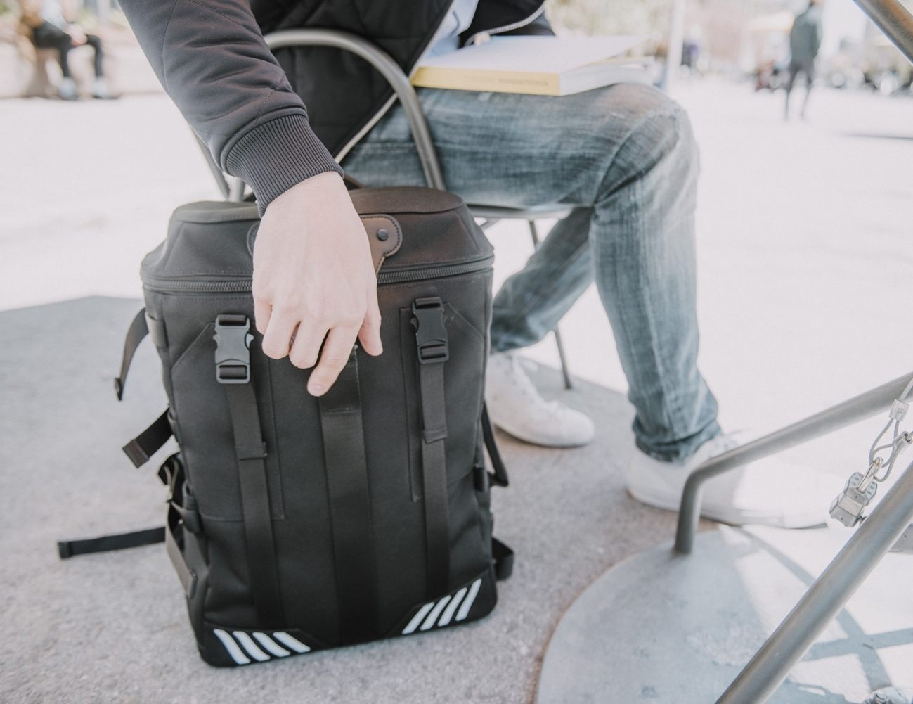 Venque Transformer A Modular Backpack