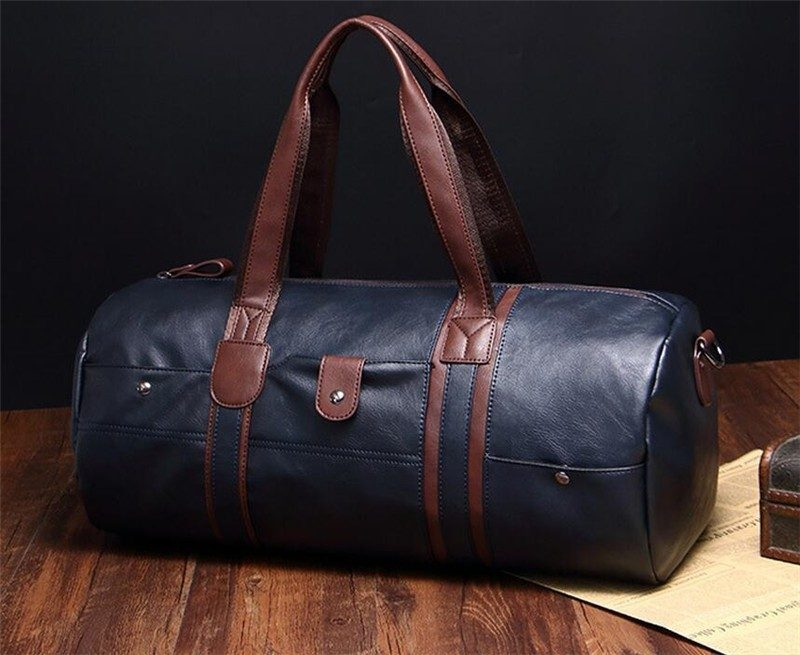waterproof leather duffle bag gadget flow. Black Bedroom Furniture Sets. Home Design Ideas