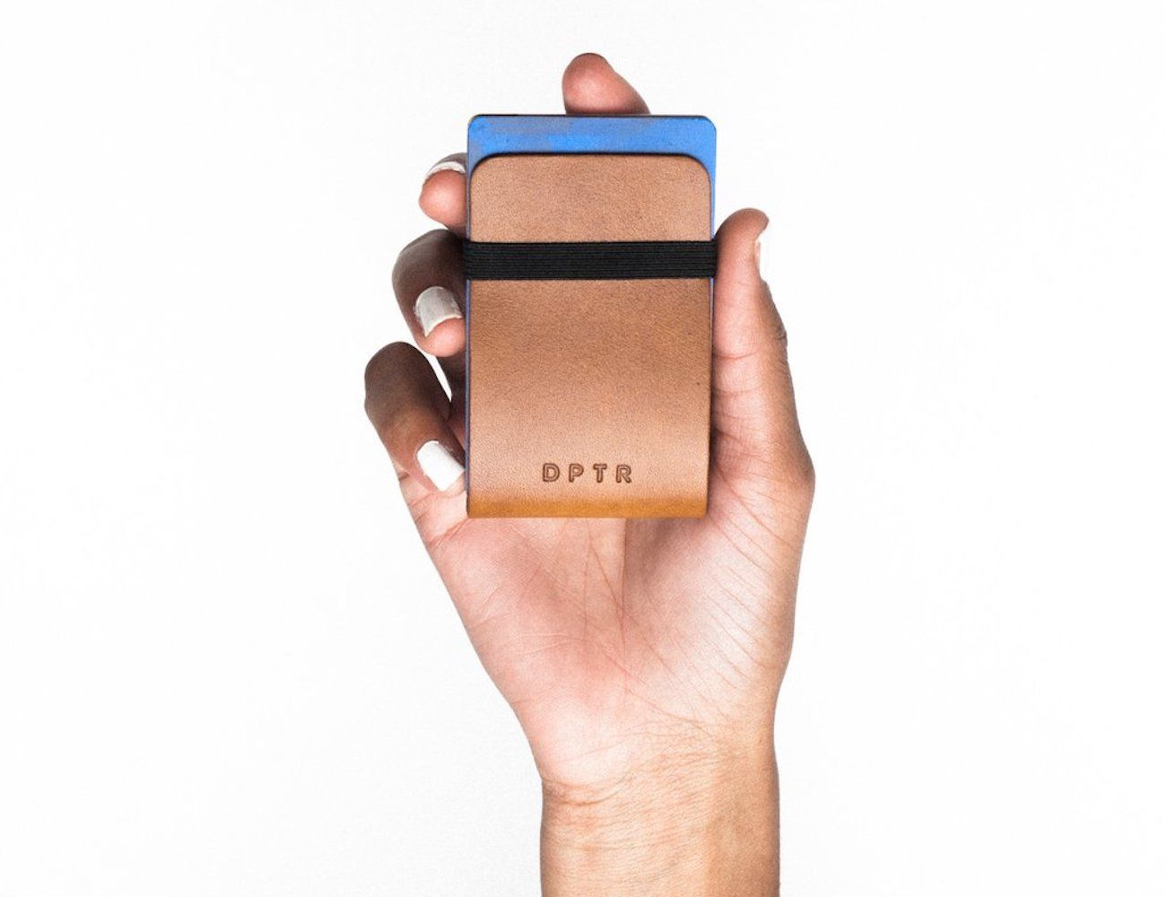 DPTR Clamshell Leather Wallet
