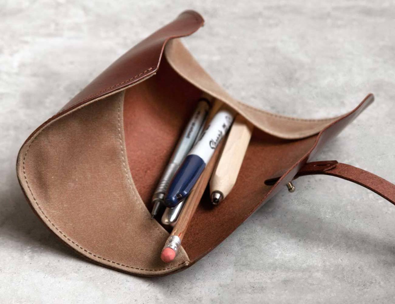 Winslow Leather Pen Roll