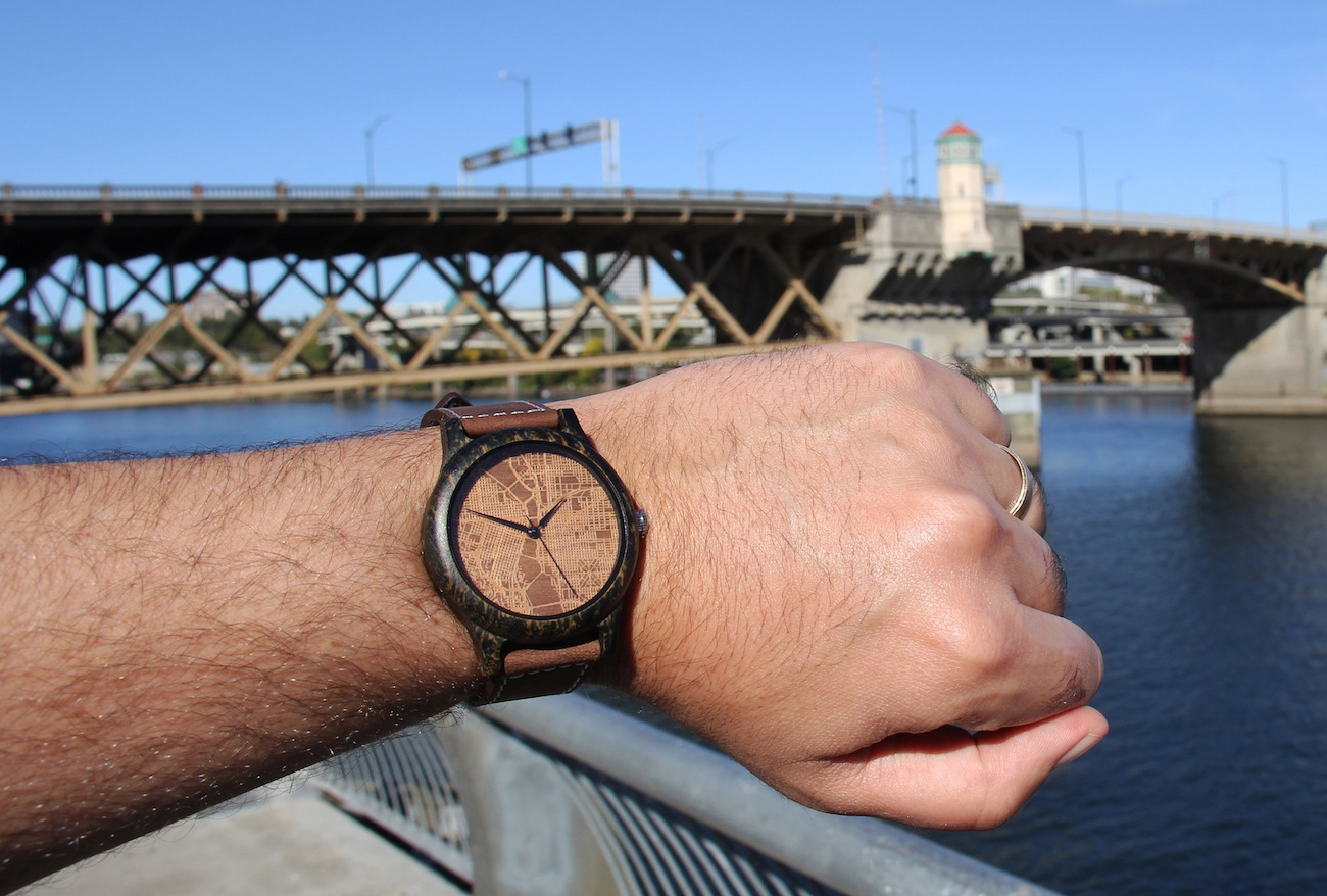 Woodburn Laser Engraved Watches