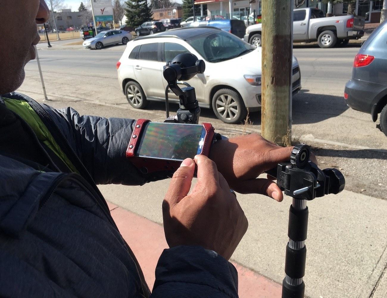 Wrist Rack Wearable Smartphone Mount
