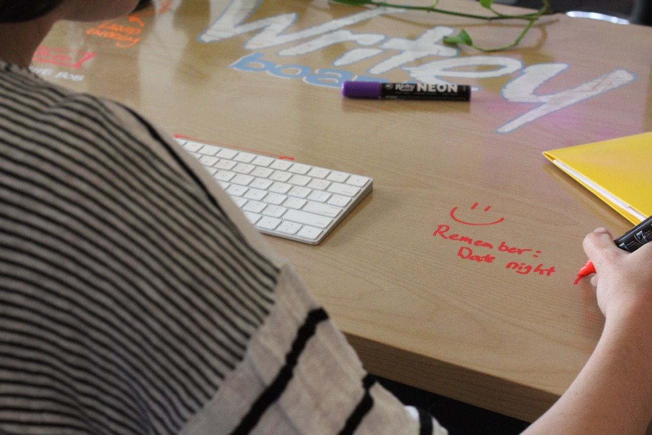 You Can Scribble Like Crazy on This Dry Erase Desk 2