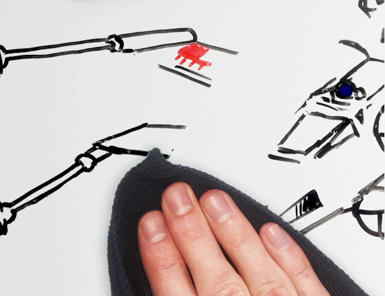 You Can Scribble Like Crazy on This Dry Erase Desk 5