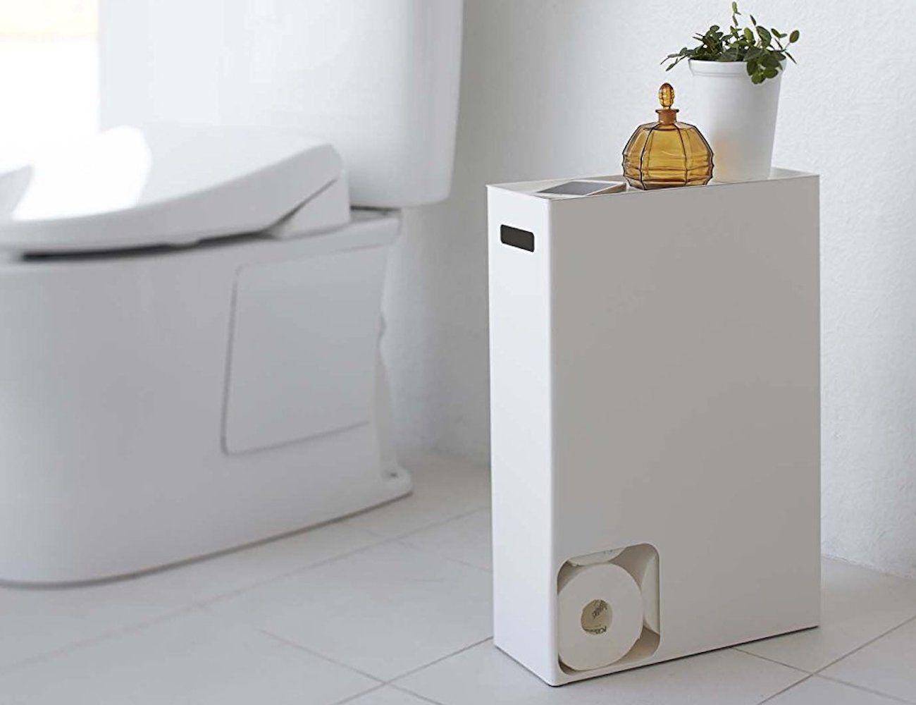 YAMAZAKI Toilet Paper Stocker