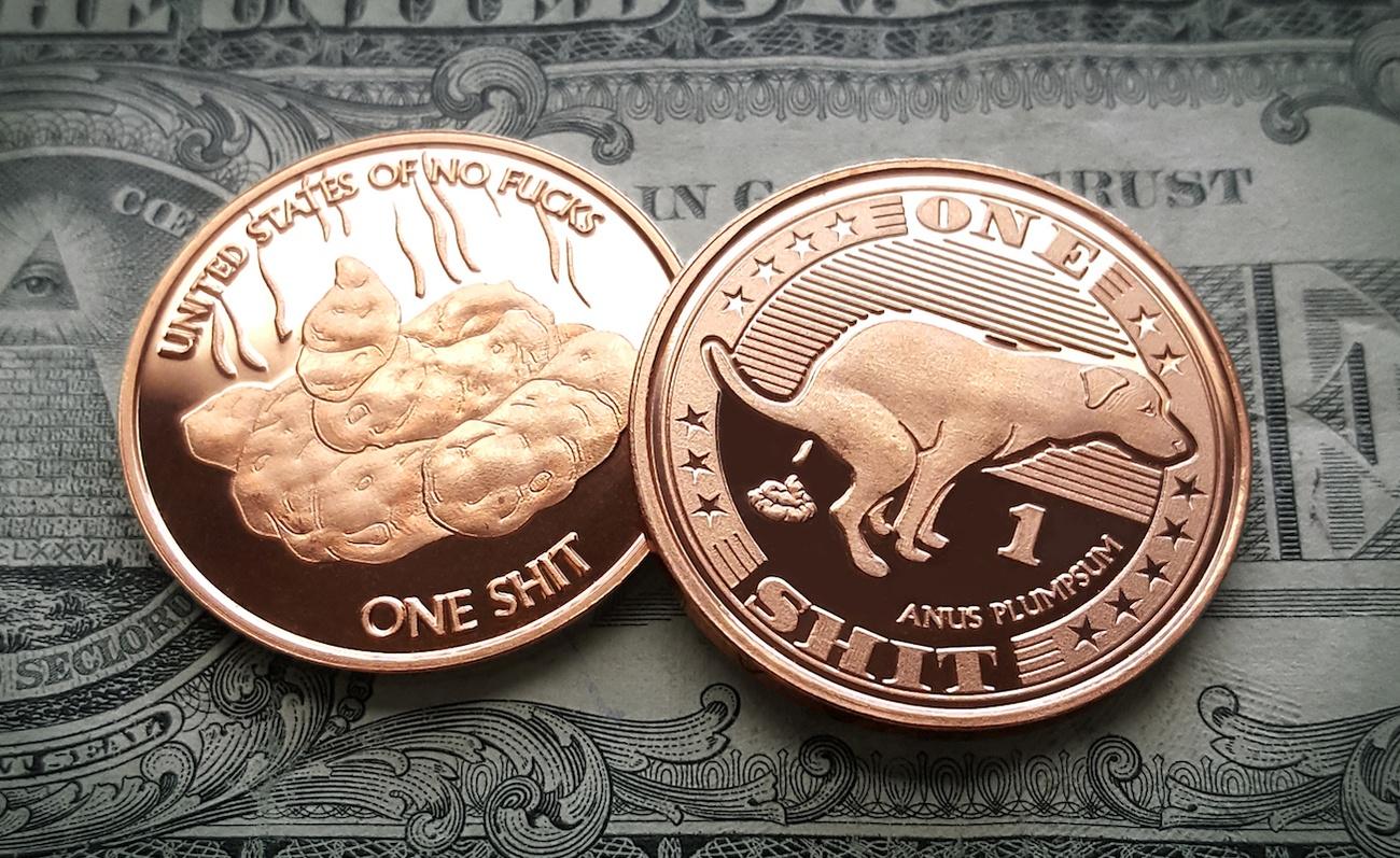 Hilarious Novelty Coins