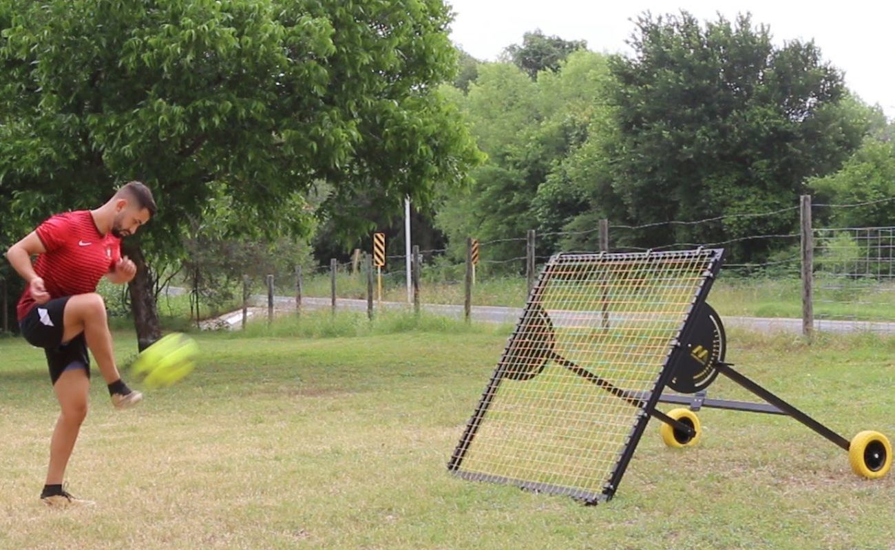 m-station Soccer Rebounder Training Net » Gadget Flow