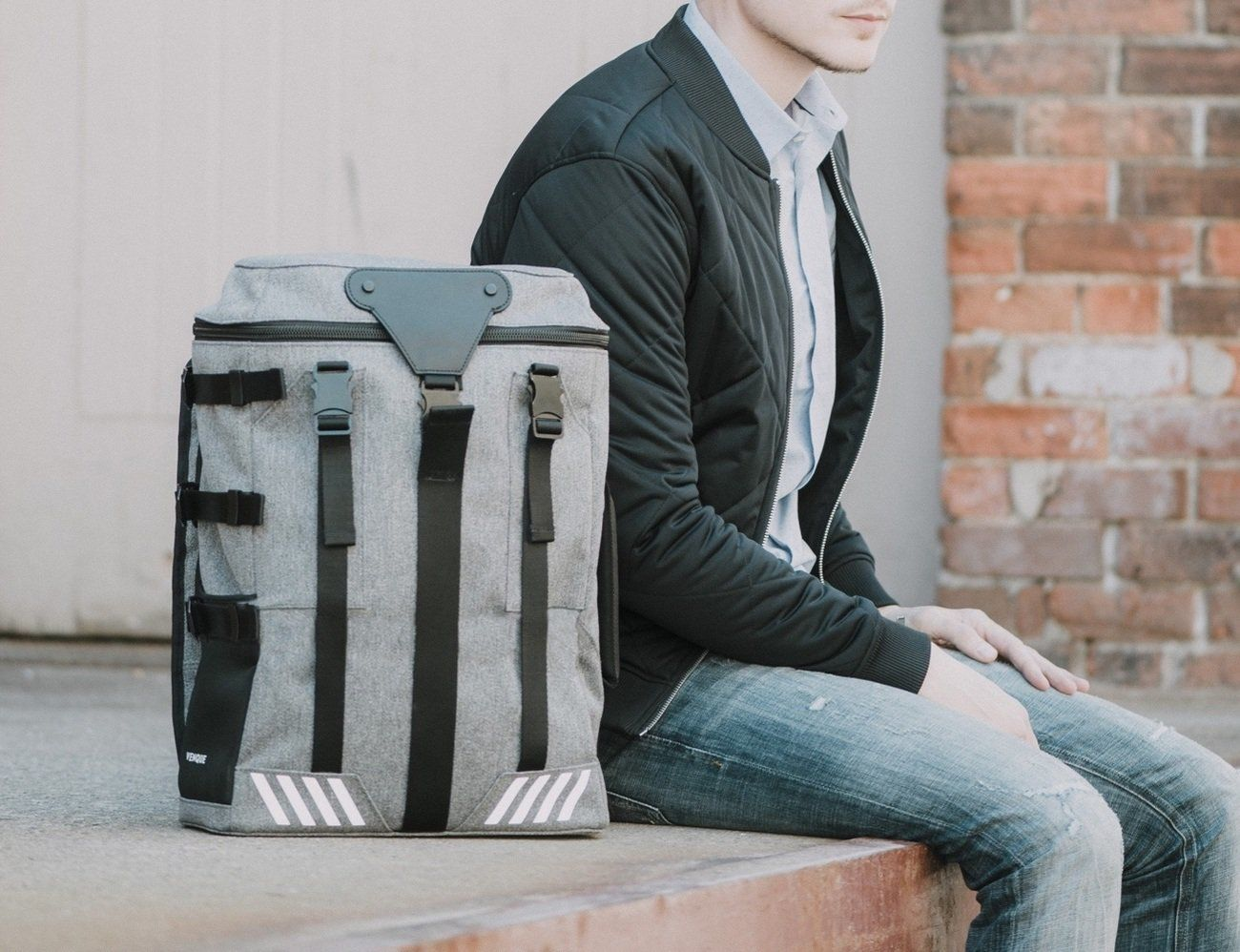 The sturdy Transformer A backpack is modular to the max